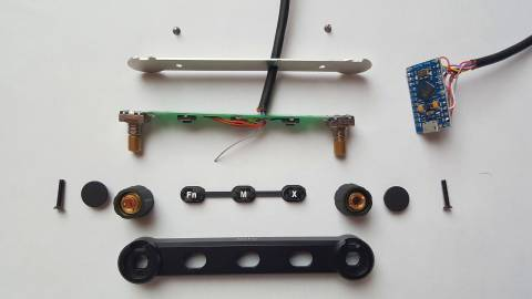 Required parts for the rotary module