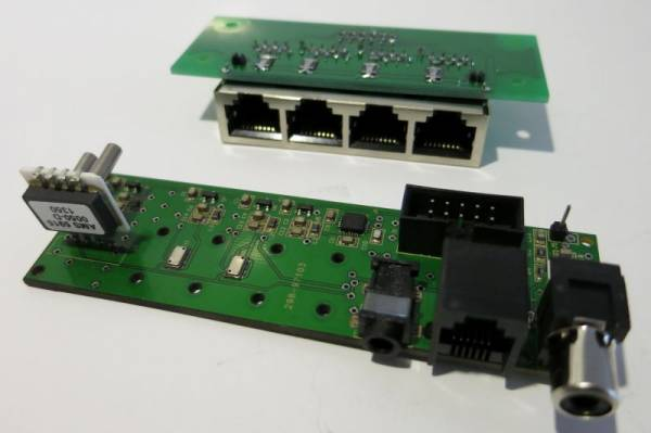 Sensorboard and RJ45-Board